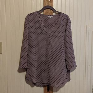 Lilac blouse   Maurice's